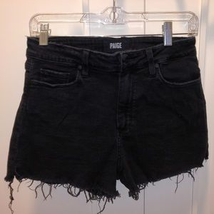 PAIGE - Vintage Black Margot Jean Shorts